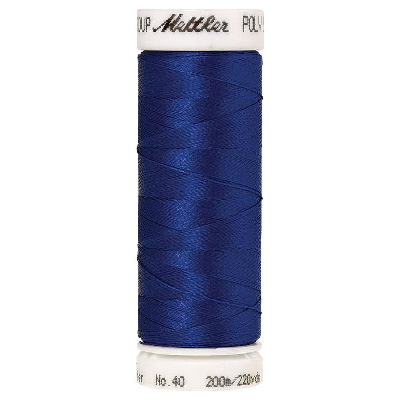 Polysheen Embroidery Thread, Dark Indigo, 200m