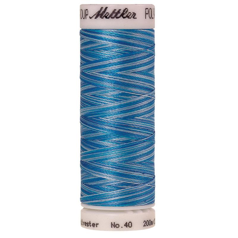 Poly Sheen Multi Thread Aqu Wrs