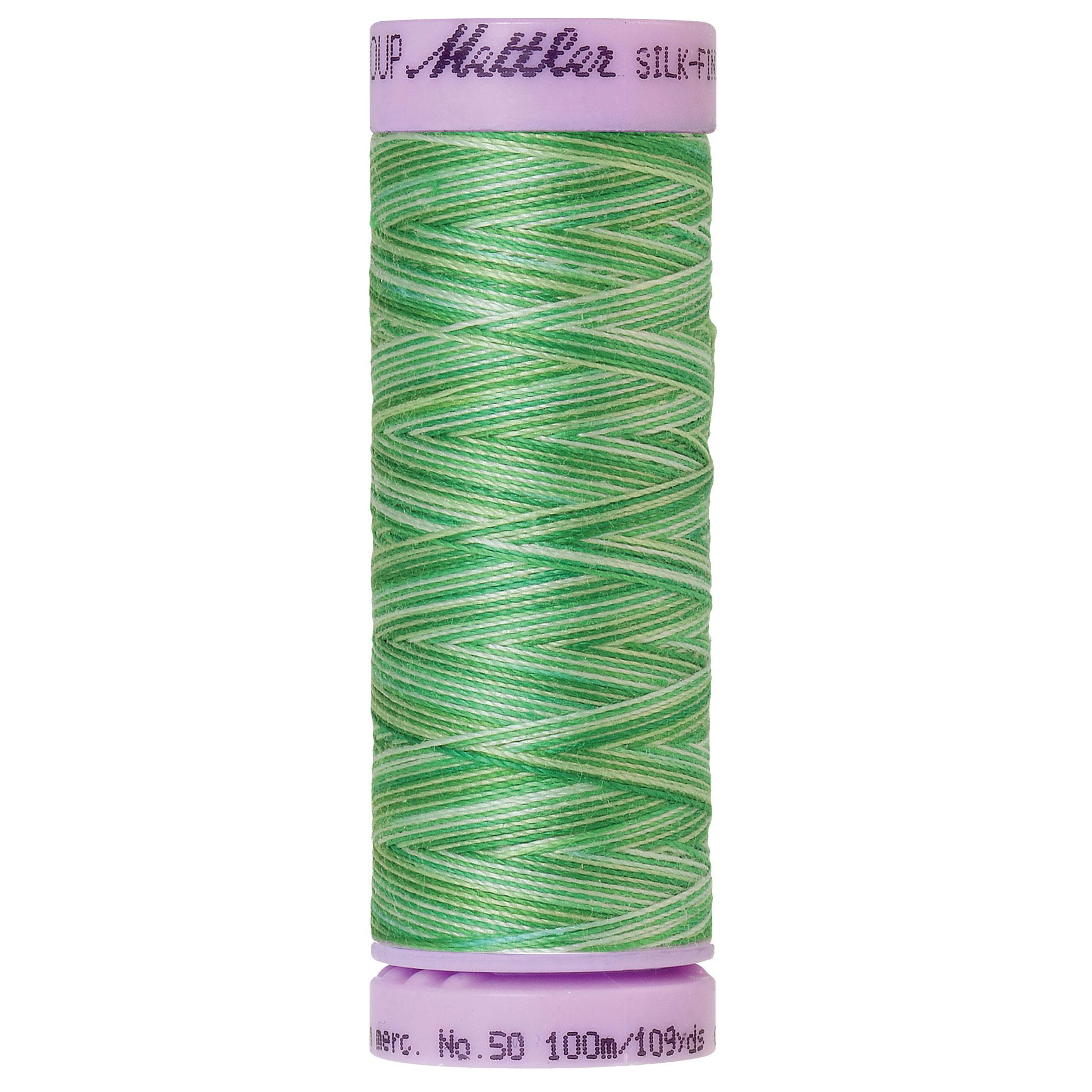 Silk Finish cotton 50wt 109 yards Minty