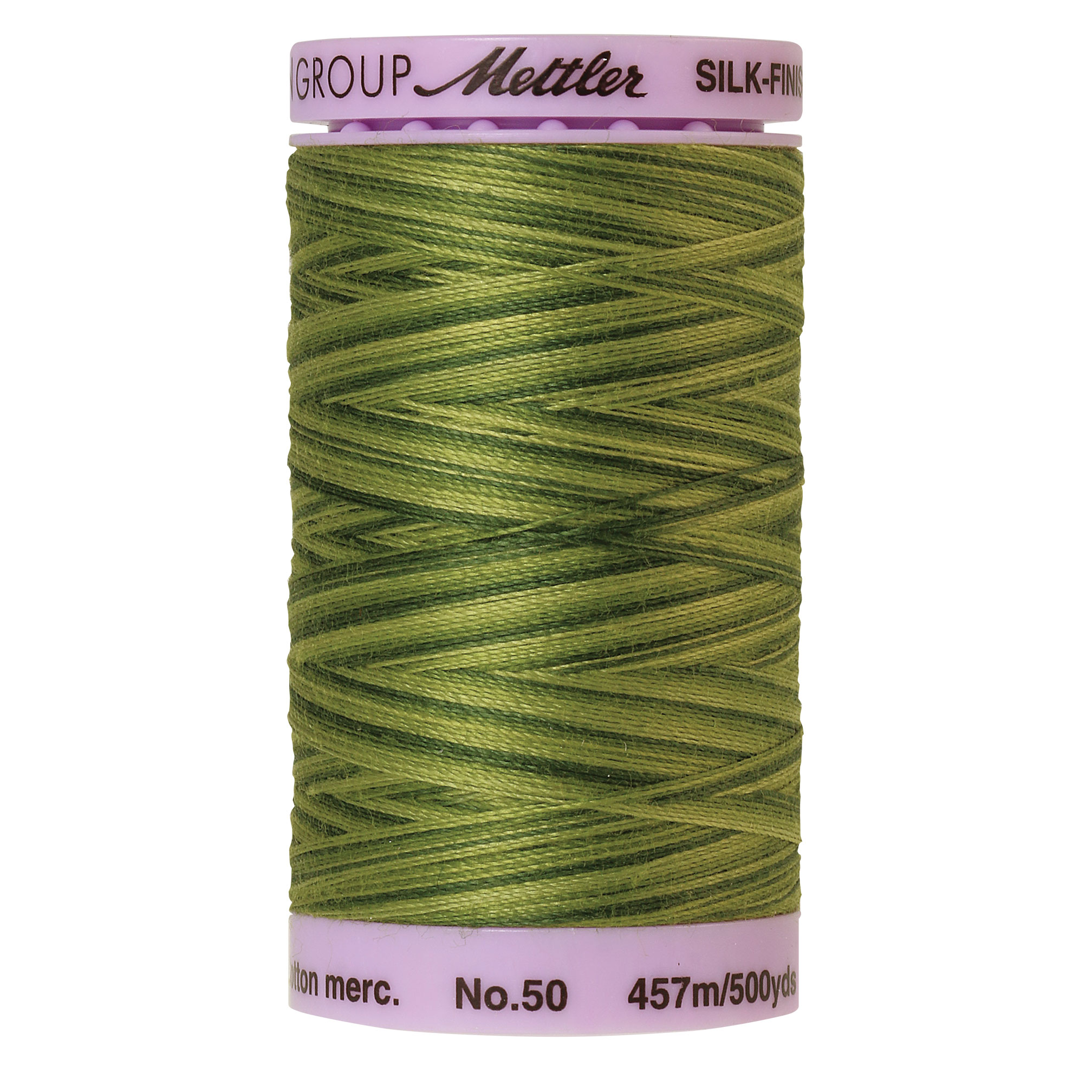 Silk Finish cotton 50wt 500 yards Ferns
