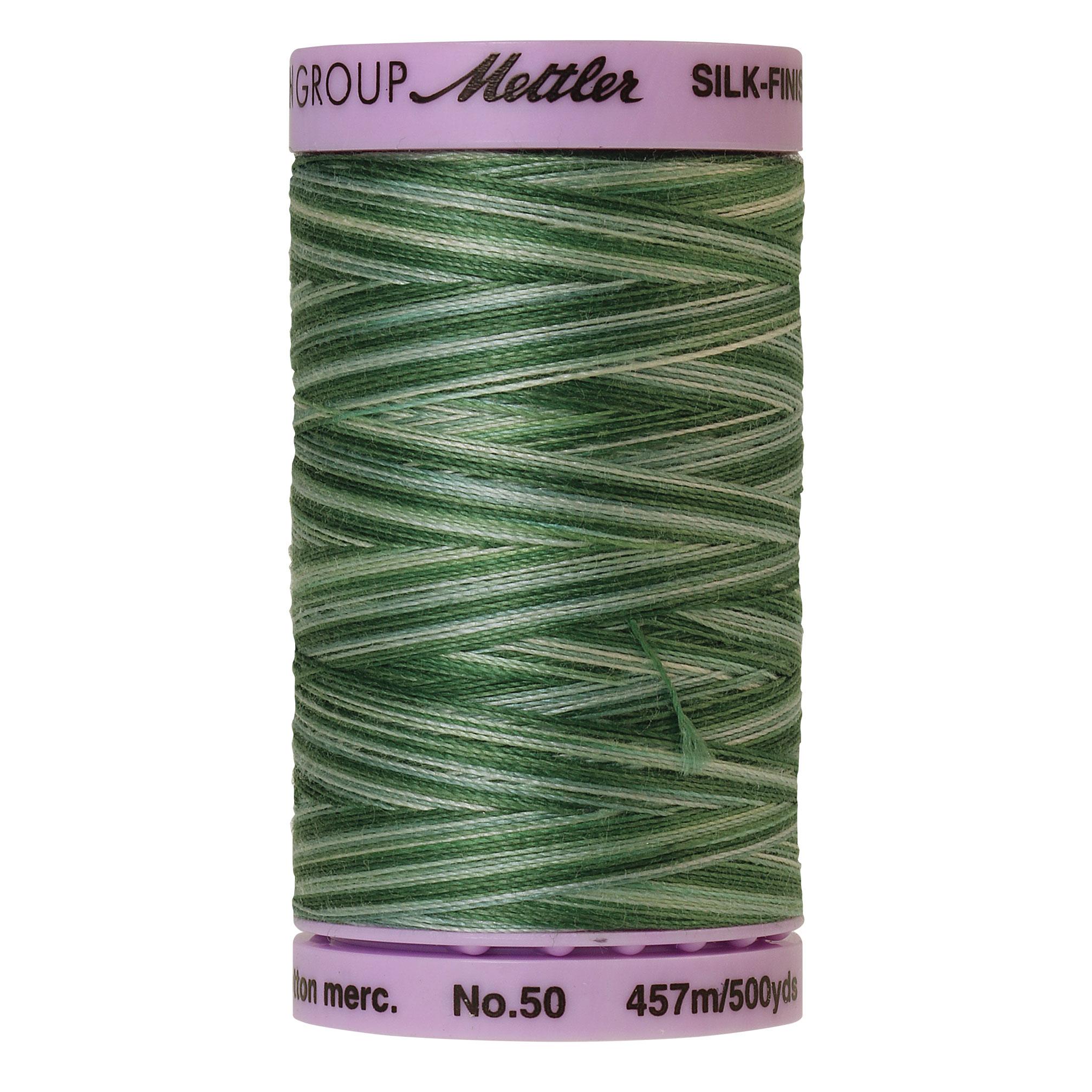 Silk Finish cotton 50wt 500 yards Spruce Pines