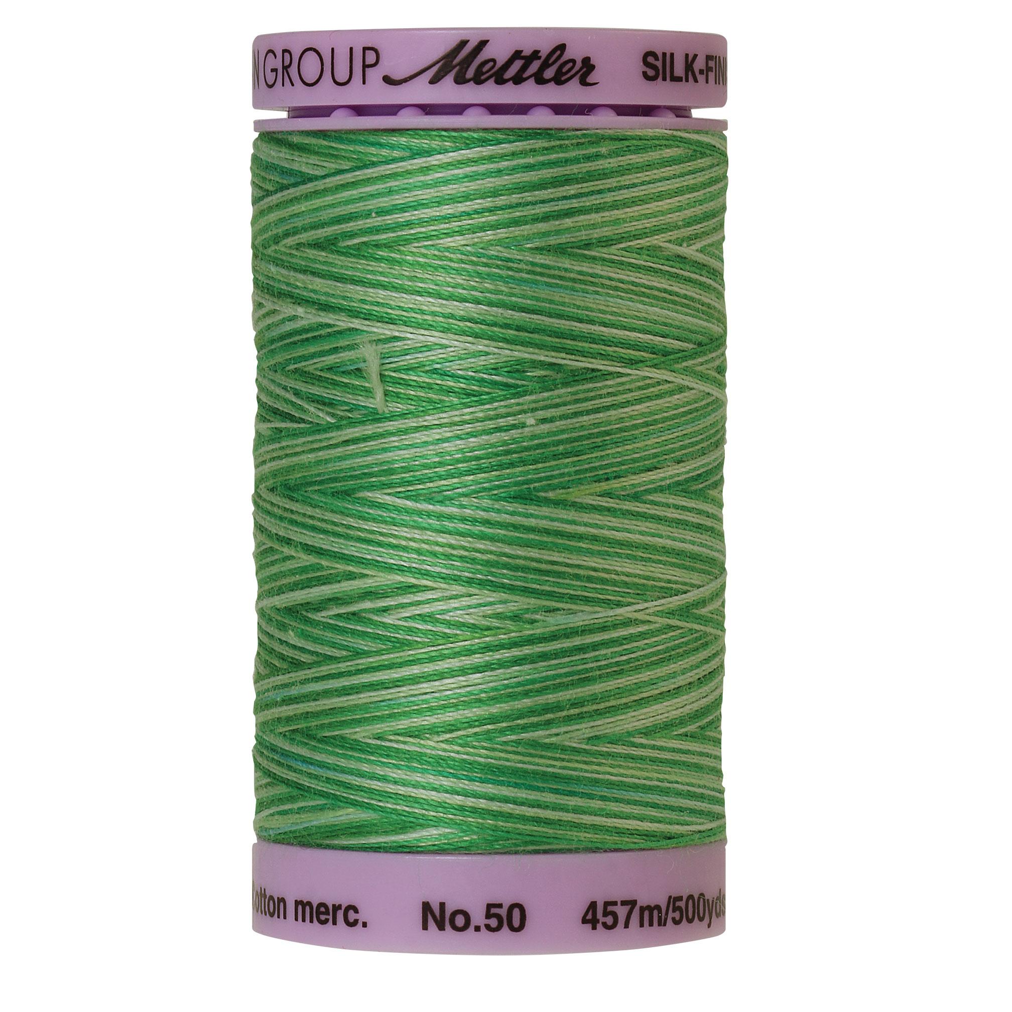 Silk Finish cotton 50wt 500 yards Minty