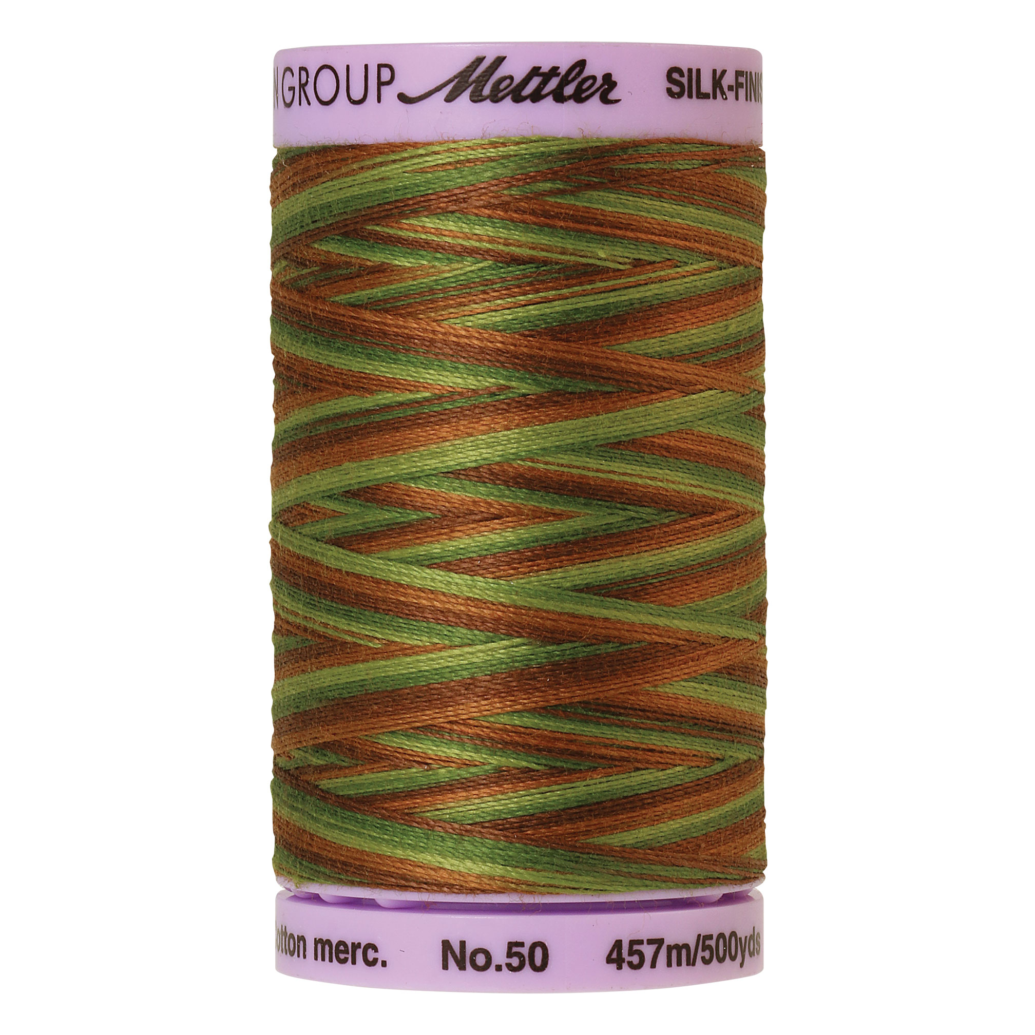 Silk Finish cotton 50wt 500 yards Forest Land