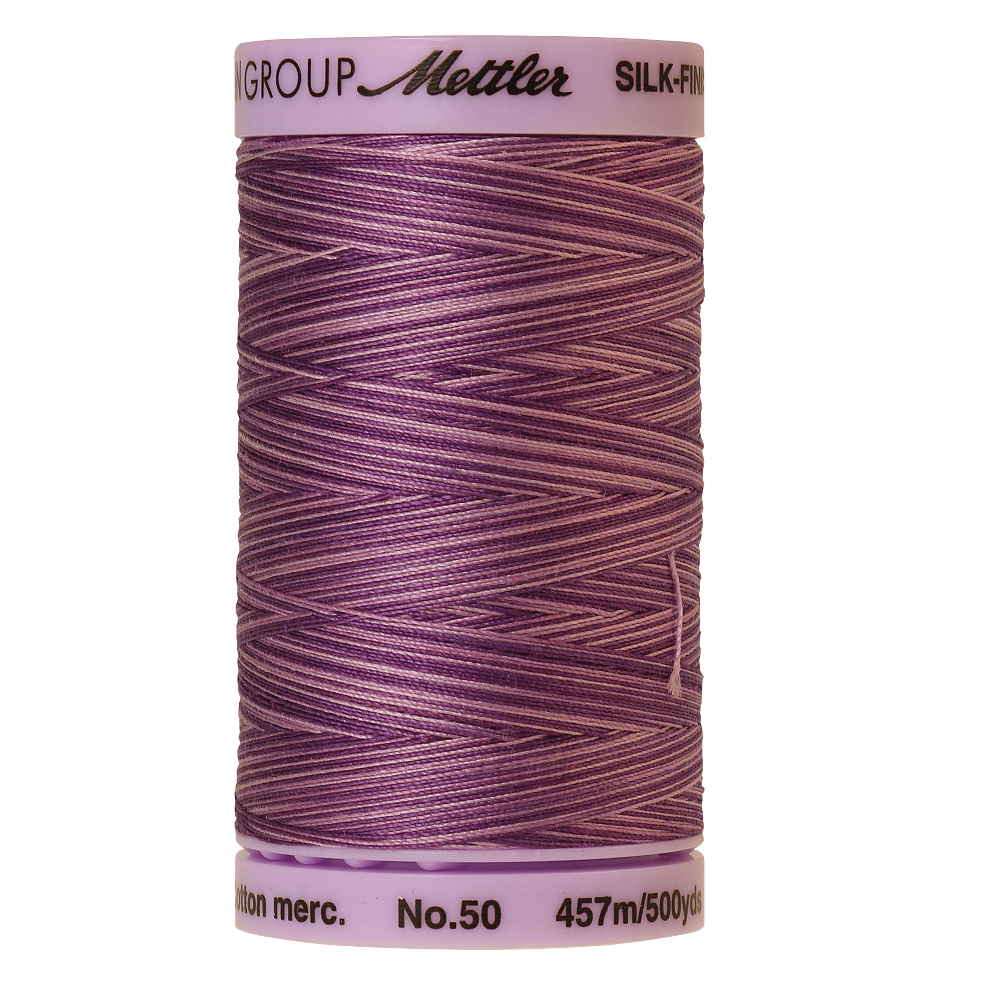 Silk Finish cotton 50wt 500 yards Lilac Bouquet