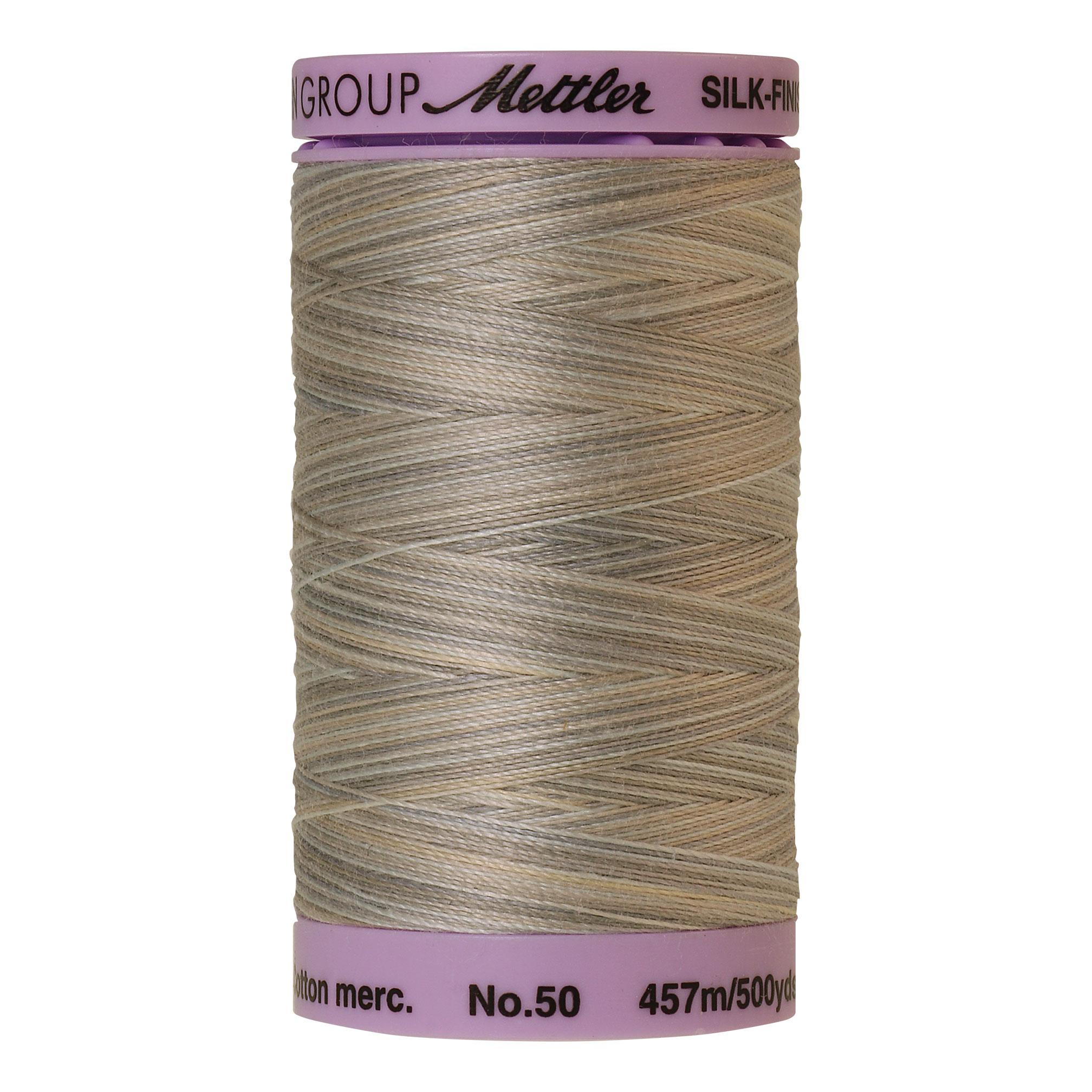 Silk Finish cotton 50wt 500 yards Dove Gray