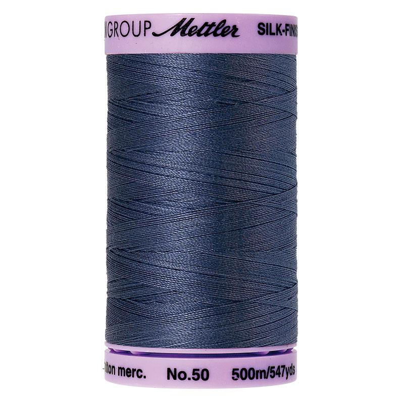 0311 Blue Shadow 50wt 547yds Silk Finish Cotton Thread Mettler