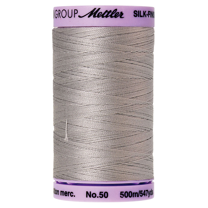 0331 Ash Mint 50wt Silk Finish Cotton Thread Mettler 547yds