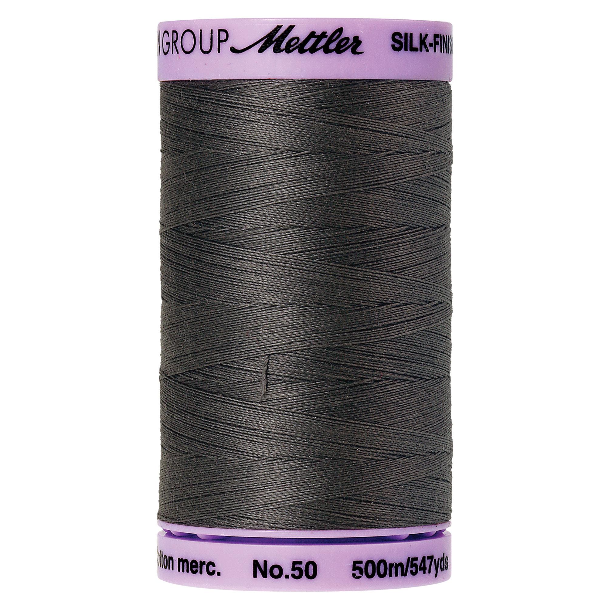 Mettler Silk-Finish 50wt Cotton Thread 547yd.  9104-0416