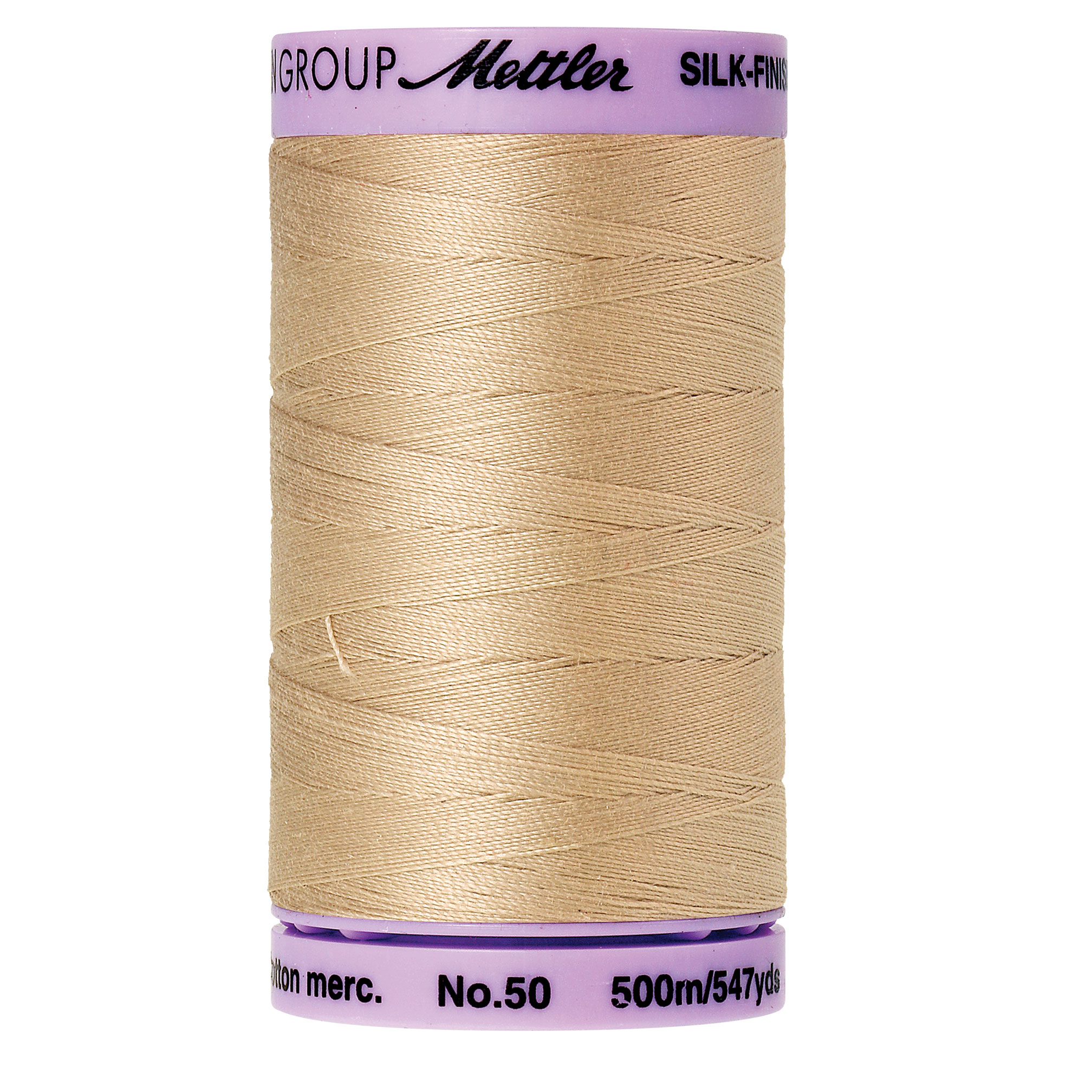 Mettler Silk-Finish 50wt Cotton Thread 547yd.  9104-0537
