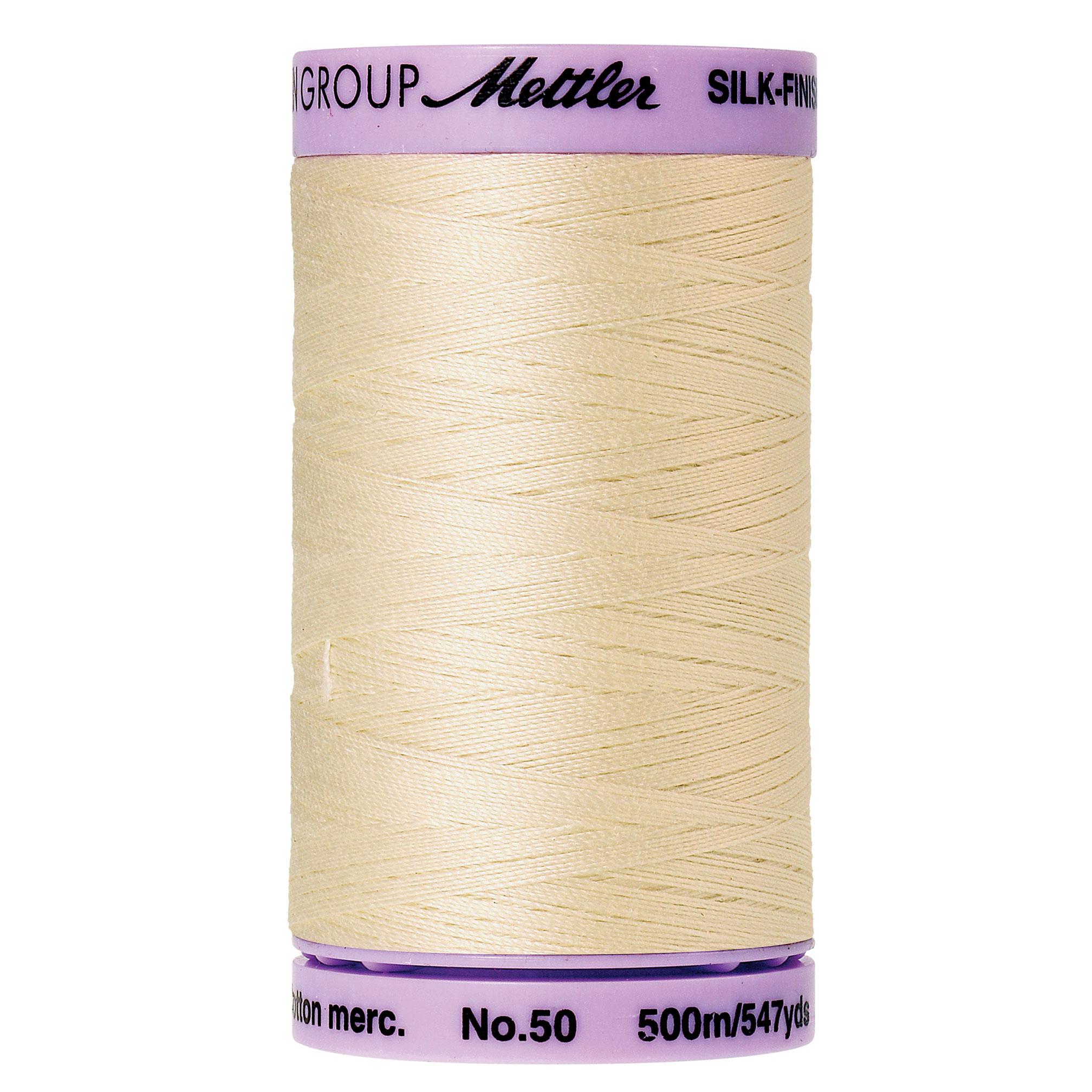 Mettler Silk-Finish 50wt Cotton Thread 547yd.  9104-0778