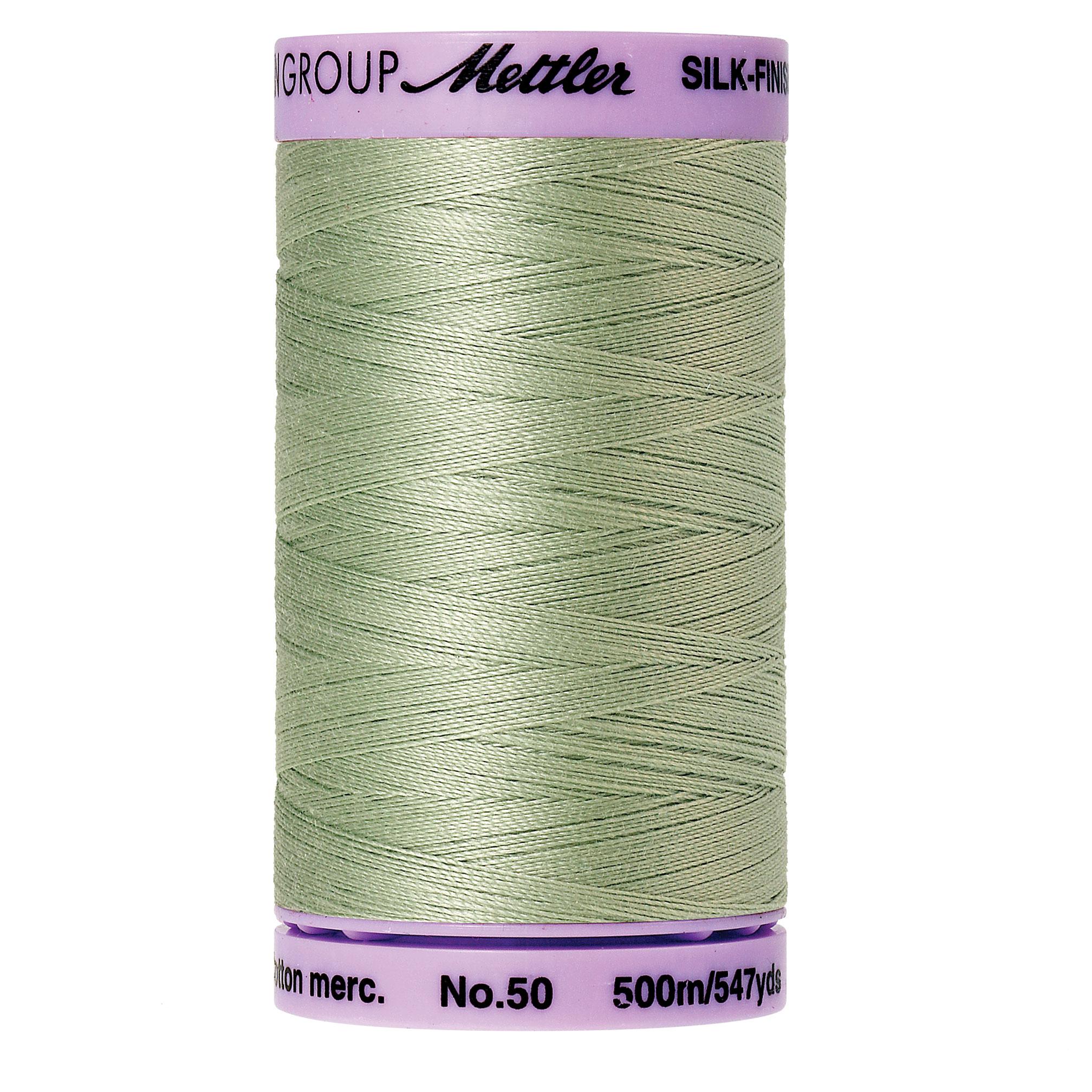 Mettler Silk-Finish 50wt Cotton Thread #536 Spanish Moss 547yds