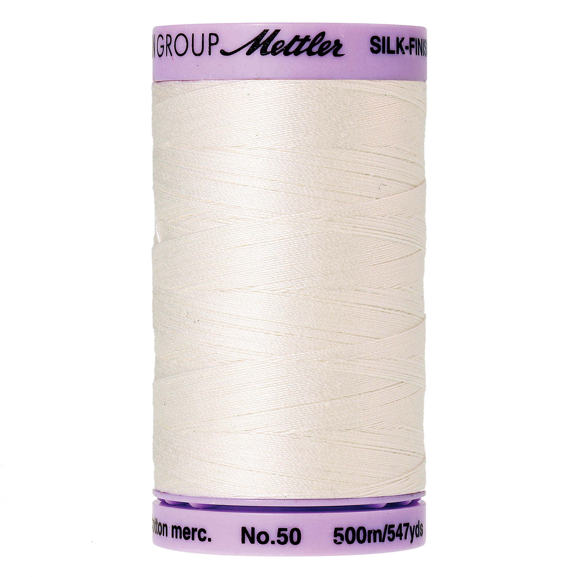 3000 Candlewick 50wt Silk Finish Cotton Thread Mettler 547yds
