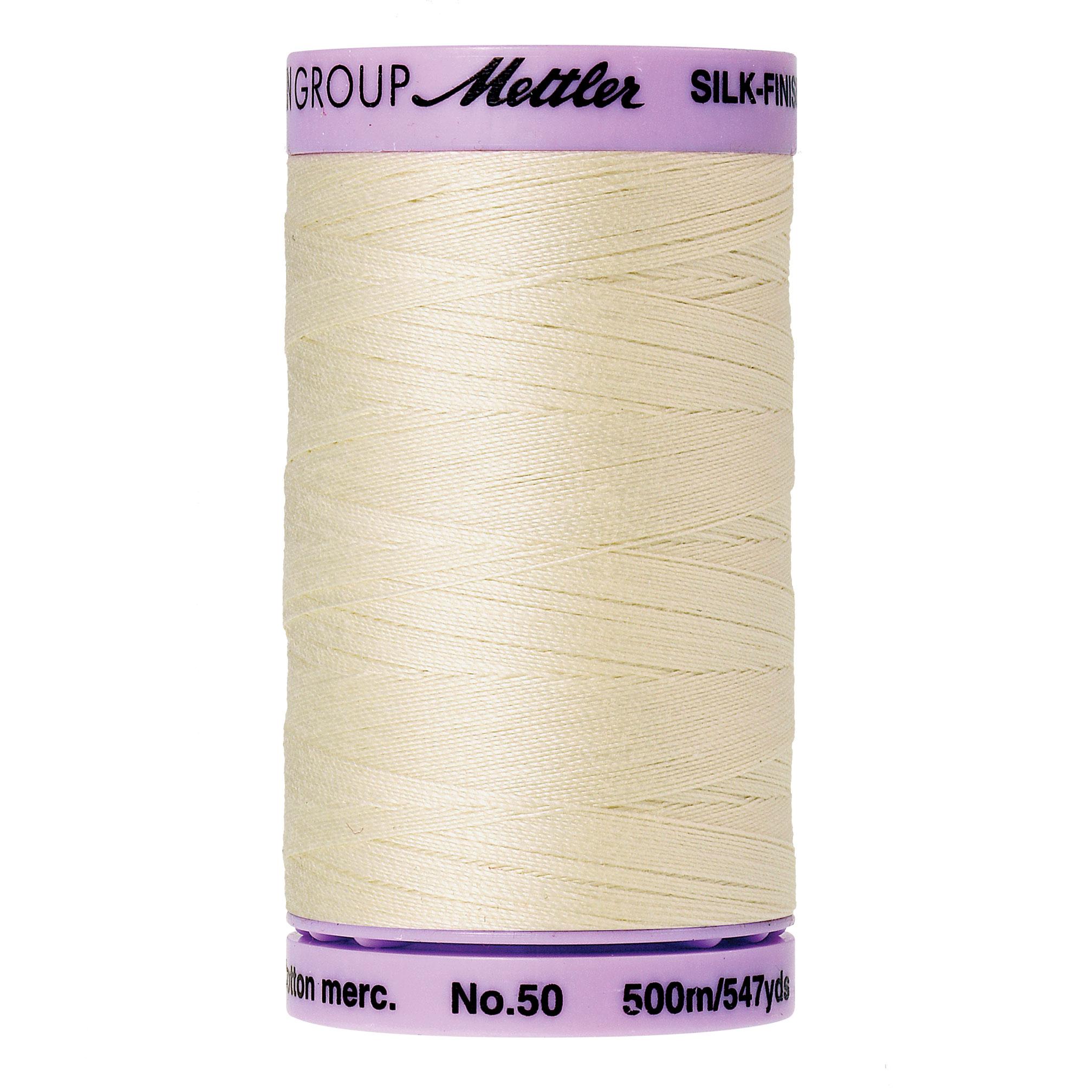 Mettler Silk-Finish 50wt Cotton Thread 547yd.  9104-3612
