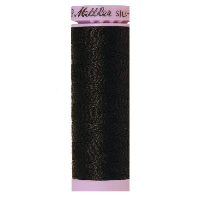 Mettler Silk Finish 50wt Black
