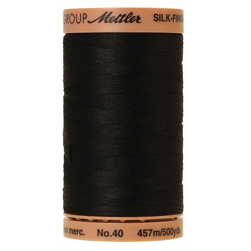 Silk Finish 40wt Black