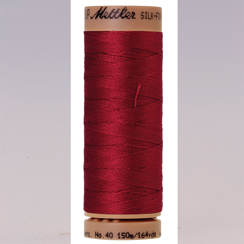 Silk Finish Cotton 40wt Fire Engine