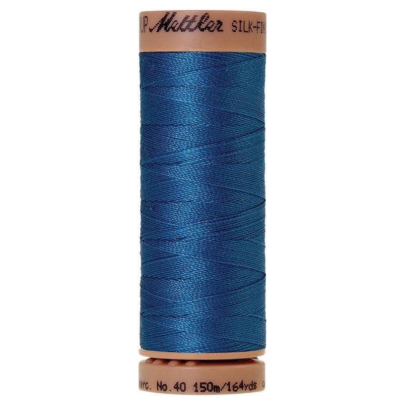 Silk Finish 40wt Mediterrn Blue