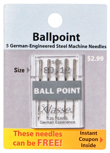 Ball Point Needle 80/12