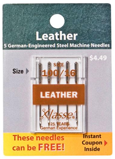 Klasse - Leather Needles 100/16