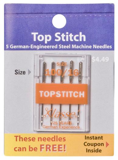 Klasse Top Stitch 100/16