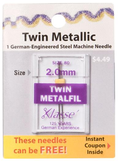 Twin Metallic 2.0MM/80
