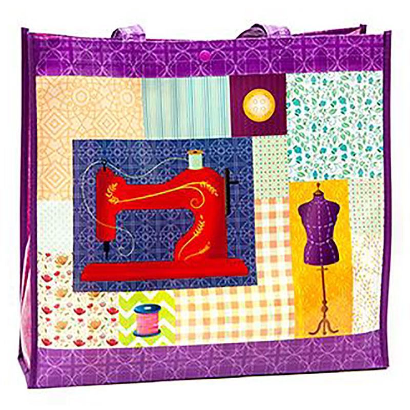 Multi Purpose Shop Tote Sew Pur - Moda MR4642 11
