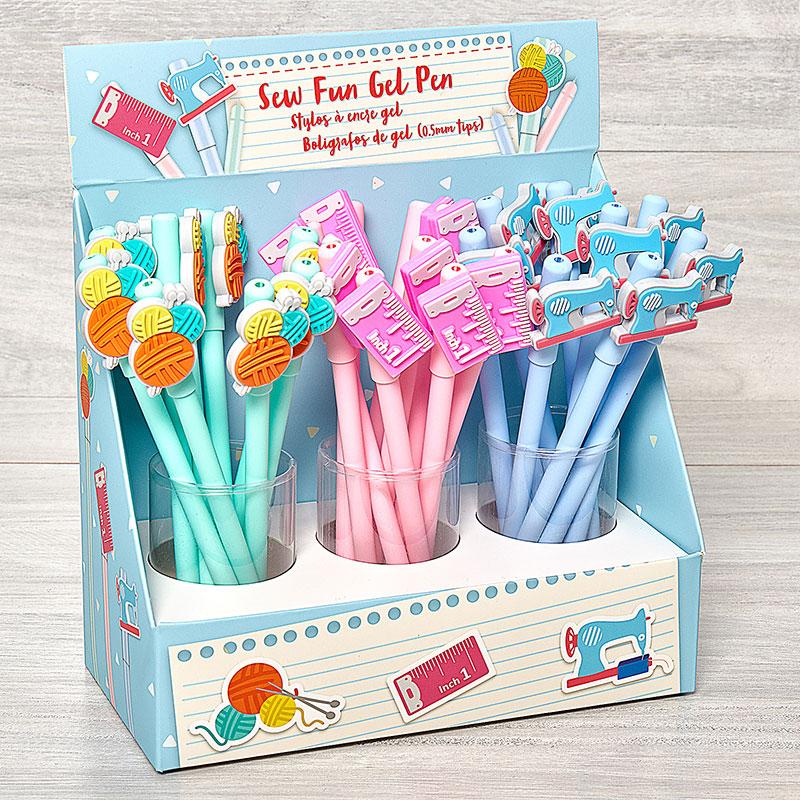 Sew Fun Gel Pens Display