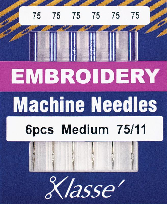 Klasse Embroidery Med 75/11