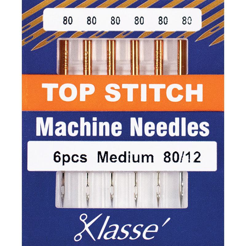 Klasse Top Stitch Med 80/12