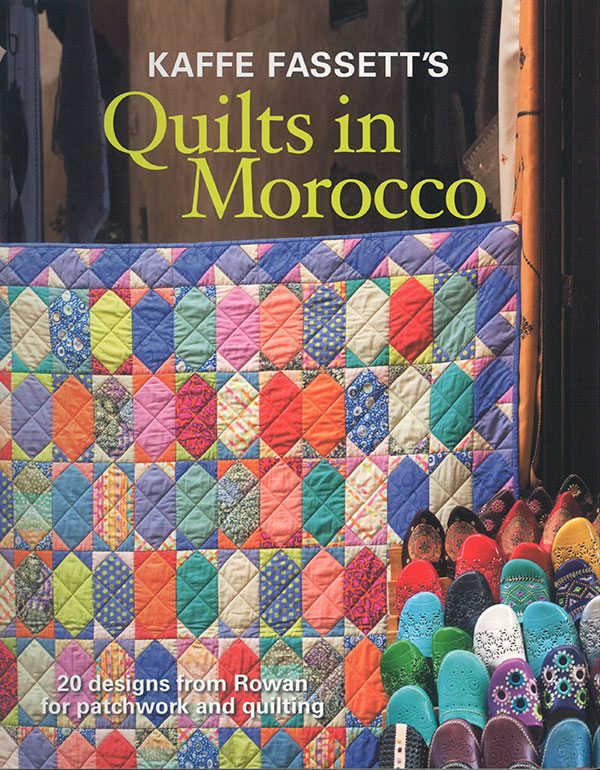 Quilts In Morocco Book by Kaffe Fassett