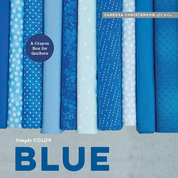 Simply Color: Blue Book