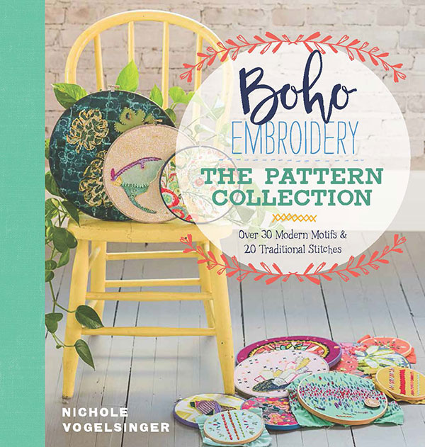 Boho Embroidery:The Pattern Col