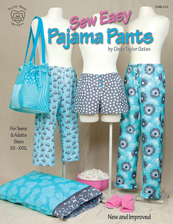 (P) Sew Easy Pajama Pants