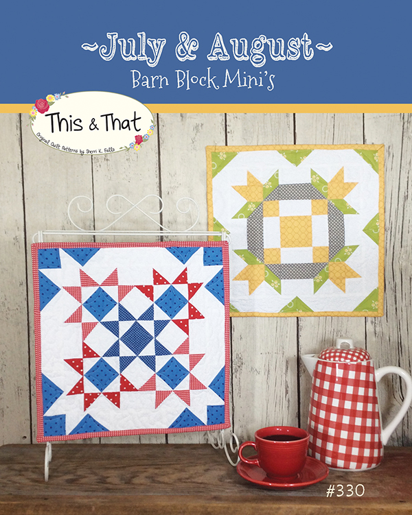 Barn Block Mini Series Jul/Aug