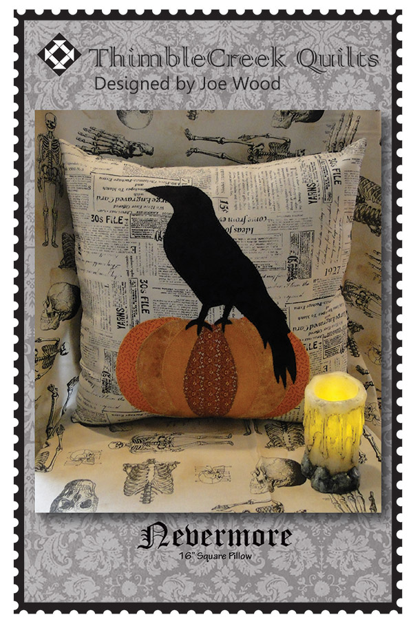 Nevermore Pillow Pattern
