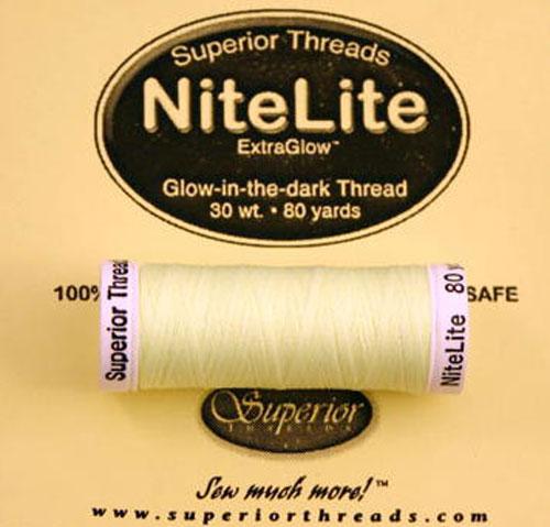 Nitelite Extraglo Thread Pastel Yellow