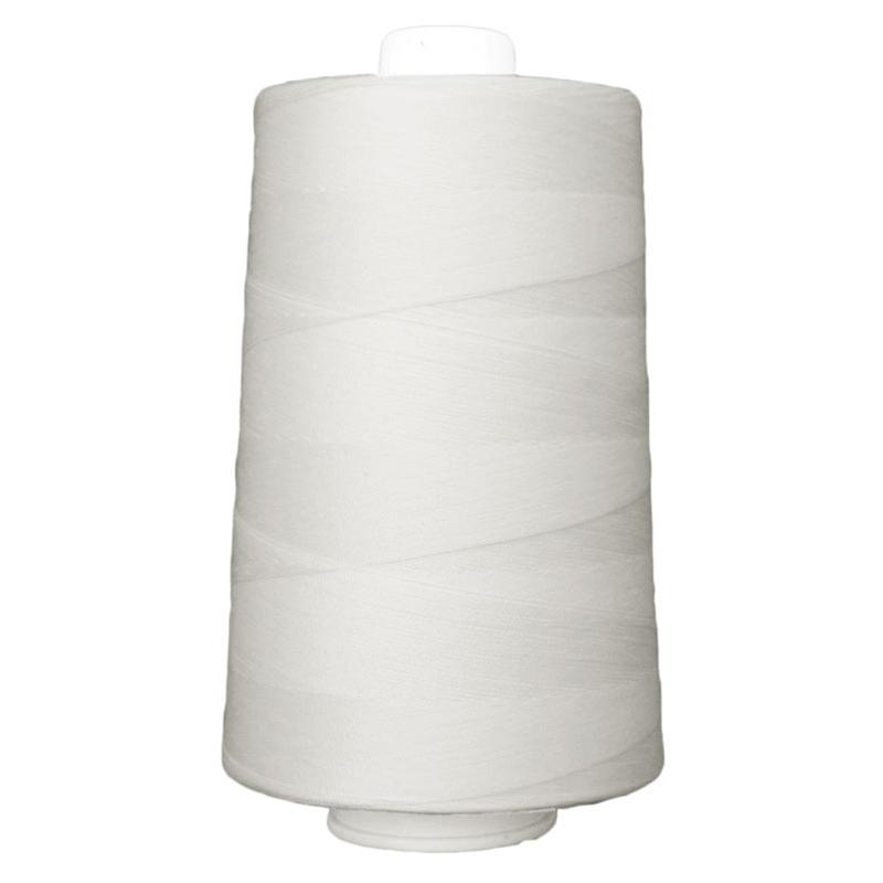 OMNI Thread 6000yds Pearl White