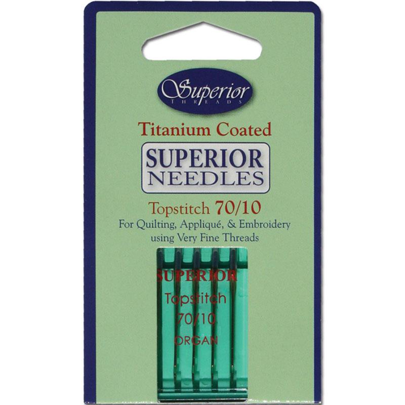 Titanium Needle 70/10 5ct