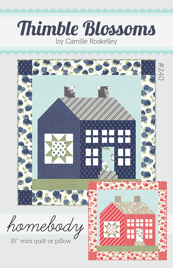 Homebody Pattern -- P00846 19 mini quilt or pillow #240