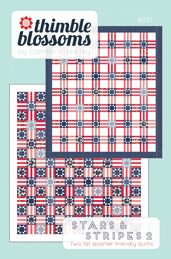 Pre-Order - Stars And Stripes 2 Quilt Pattern