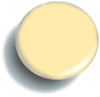 Snap Source Capped Prong Ring Size 16 - Pale Yellow