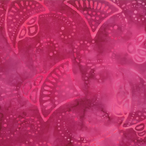 Kapalua Hibiscus Jellyfish Batik