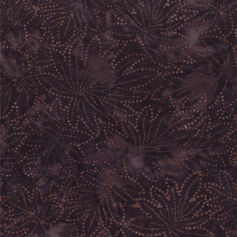 Brown Leaf Batik