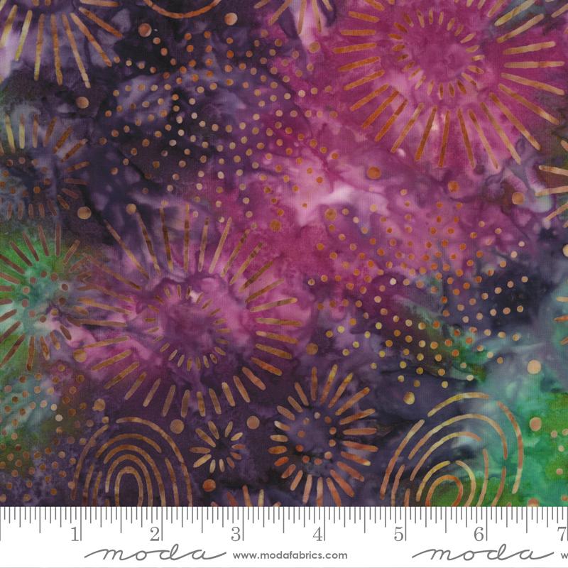 PRE-ORDER Sunny Day Batiks 4358-24 Raspberry