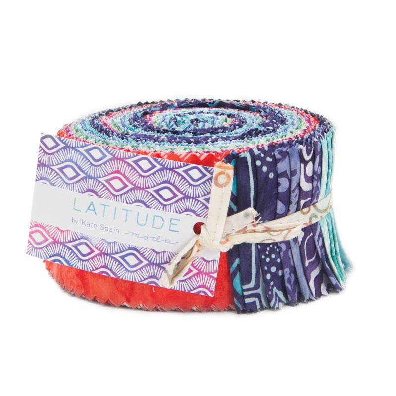 Latitude Batik Jelly Roll