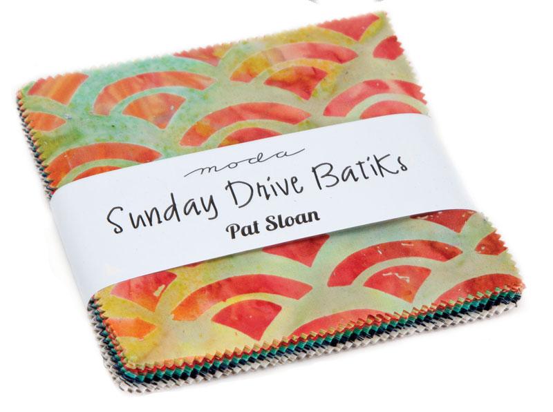 43076PP Sunday Drive Batiks Charm Pack