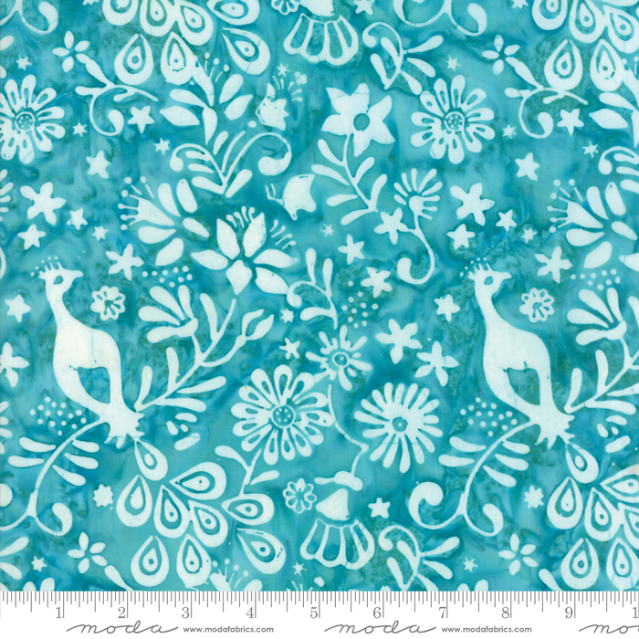 33314 15 Longitude Turquoise - By Kate Spain for Moda