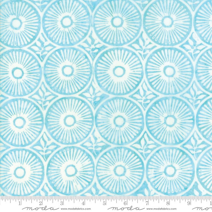 27259 88 Longitude Aqua by Kate Spain for Moda