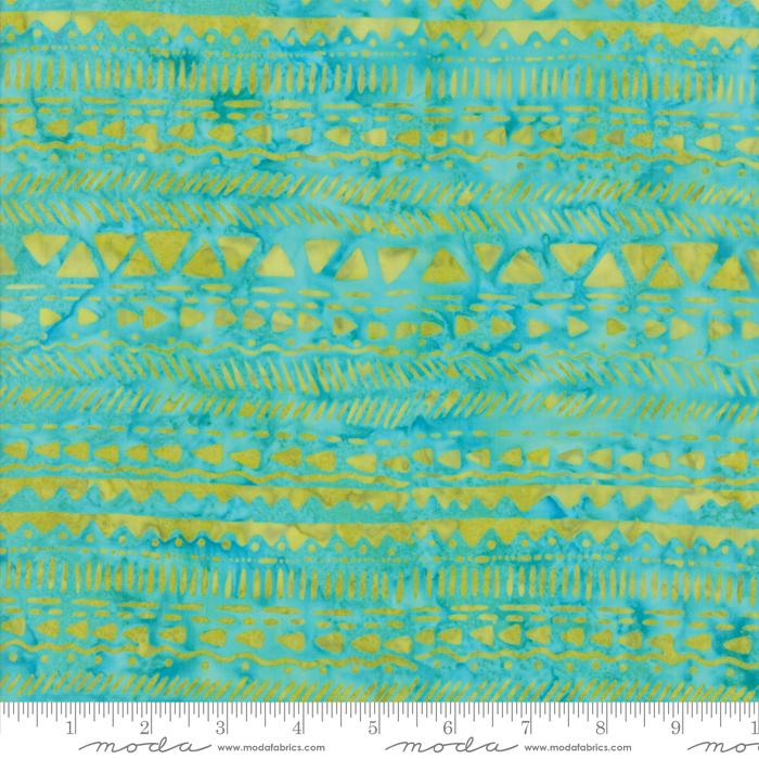 27259 171 Longitude Turquoise Citrine by Kate Spain for Moda