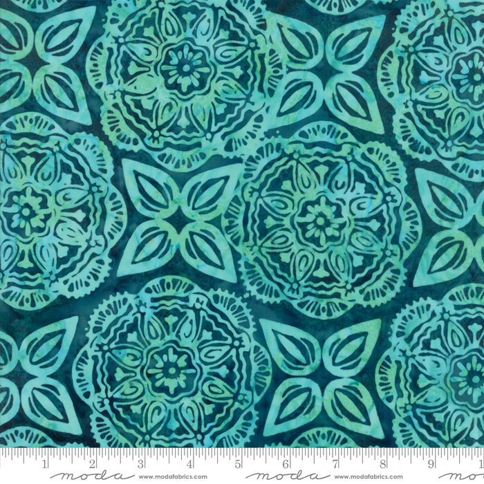 27259 182 Longitude Teal by Kate Spain for Moda